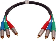TecNec 3RCA-1.5 Canare Premium 3 Channel RCA Component Cable 18...