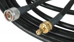 Laird Digital Cinema 400-RPSMA-N-25 Laird  Wi-Fi 802.11 a/b/g-Compatible Belden 7810A Reverse-Polarized SMA Male to N-Type Male TP-Link Cable