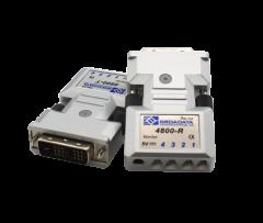 Broadata DVI Video Transmitter/Receiver Pair , MMF-LC, Four Fibers
