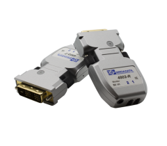Broadata DVI Video Transmitter/Receiver Pair, MMF-LC, Two Fibers