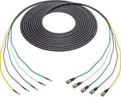 Laird Digital Cinema 4855RX5-D-B-075 Laird  Belden 4855RX5 Male 12G DIN to Male 12G BNC 5-Channel cable - 75 Foot