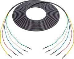 Laird Digital Cinema 4855RX5-D-MB-025 Laird  Belden 4855RX5 Male 12G DIN to Male HD-BNC 5-Channel Cable - 25 Foot