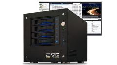 EVO Prodigy Desktop Shared Storage Server plus ShareBrowser Media Asset Management 8TB