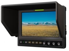 Lilliput 7in 1280x800 SDI Monitor Multi Input/Output Adv funct.- 662/S
