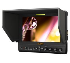Lilliput 7in 1280x800 Monitor Multi In/Output Adv functions - 663/O/P2