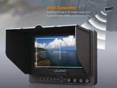 Lilliput 7in Wireless HDMI Monitor WHDI YPbPr HDMI in/out - 665/O/P/WH