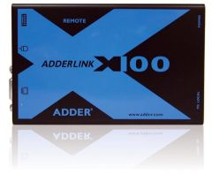 Adder X100A/R-US Link X100 Receiver for CATx - Audio - VGA -...