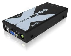 Adder X200AS-USB/P-US Link X200AS -VGA/ Audio/ DeSkew & USB to...
