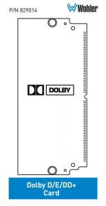 Wohler Add Support for Monitoring Dolby® D/E/Dd+