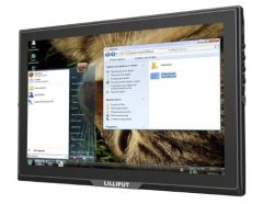 Lilliput 10.1in 1280x800 Monitor 3G-SDI, HDMI, DVI, VGA & AV inputs
