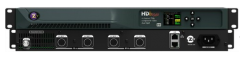 ZeeVee 4 CH HD MPEG2 Digital Video Encoder incl 4 satellite DIN cables