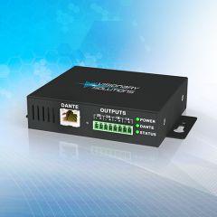 Visionary Solutions PacketAV Dante POE+ 2 Chan Class-D Netwk Audio Amp
