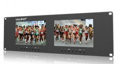 Lilliput 3RU Rack Monitors dual VGA, Video & DVI in/outputs - RM-7024