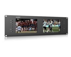 Lilliput 3RU Rack Monitors dual 3G-SDI, HDMI In/outputs - RM-7028/S