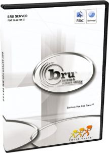 BRU Server 2.x Mac OS X Network Edition 25 clients UPGRADE FROM BRU LE