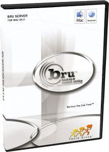 BRU Server 2.x Mac OS X Enterprise Edition 200 clients UPGRADE FROM BRU WORKSTATION