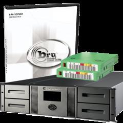 Tolis BRU Server Business Class LTO-5 Fibre Channel Hardware Bundle