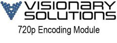 Visionary Solutions 720p Addon license Mod.edu only - MOD002OEM
