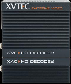 XVC H.264 1080p60 Video Decoder