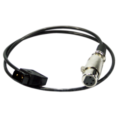 Ikan AB102 Anton/Bauer Power Tap Cable w/ 4-Pin XLR