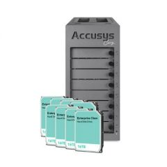 Accusys Gamma Carry (with 128TB in Enterprise Class Hard Drives) - Final Sale/No Returns