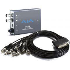 AJA 3G-SDI 8-Ch AES Embedder/Disembedder, bal. BNC, USB Mini-Config support 3G-AM-BNC