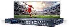 AJA HDR 4K/UltraHD/2K/HD frame synchronizer and converter for HDR/SDR standards conversion FS-HDR