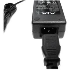 AJA 120/240 AC to 12v DC 4-pin XLR power adapter KI-IOX-ACADPT