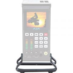 AJA Desk stand for Ki Pro Quad, incl. right angle 4-pin XLR cable KI-QUADSTAND