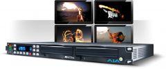 AJA Rackmount file based recorder/player, with ProRes 422 and DNxHD Ki Pro Rack