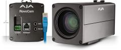 AJA Integrated UltraHD/HD Camera with HDBaseT (w/ PoH) ROVOCAM