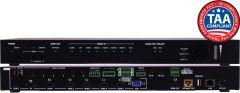 A-Neuvideo ANI-8X2MFS 8x2 4K@60Hz MULTI-FORMAT HDMI/DP/USB-C/VGA to HDMI/HDBaseT SCALER PRESENTATION SWITCH w/ AUDIO