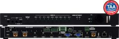 A-Neuvideo ANI-9X2MFS 9x2 4K@60Hz MULTI-FORMAT HDMI HDBaseT USB-C VGA TO HDMI HDBaseT SCALER PRESENTATION SWITCH w/ AUDIO