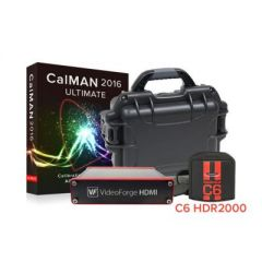 SpectraCal ASMULTC6-2KVFP-SAM-A  CalMAN Ultimate with  C6-HDR2000 and VideoForge HDMI