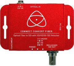 Atomos AATOMCCVFS1 Connect Convert Fiber - Optical Fiber to SDI Converter with SD/HD/3G-SDI Reclocker