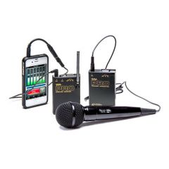 Azden VHF Wireless Microphone System with Wired Handheld