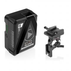 Shape SHAPE FULL PLAY14.8 V 98 WH rechargeable lithium-ion V-mount battery with V-mount battery dock clamp for 25mm gimbal handlebar - B25GC