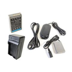 Bescor BLS50 Style Battery, Charger, Coupler & AC Adapter Kit
