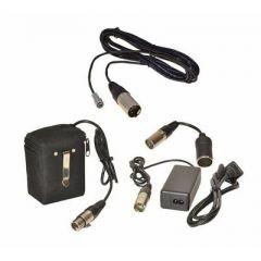 Bescor FP12VATM Kit with Blackmagic 4K Pocket Cinema Camera Adapter Cord