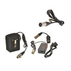 Bescor FP12VATM Kit with Panasonic Adapter Cord Kit