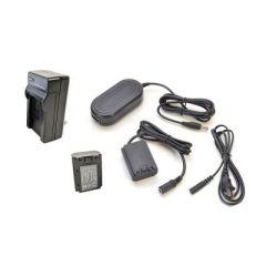 Bescor FZ100 Style Battery, Charger, Coupler & AC Adapter Kit