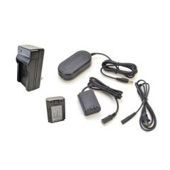 Bescor FZ100 Style Battery, Charger, Coupler & AC Adapter Kit