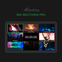 BirdDog Multiview Lite - NDI Multiviewer Pro (Create up to Six, 4x4 Outputs)