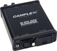 Camplex BLACKJACK-APTT3  ATEM Headset Push-to-Talk Belt-Clip Active Adapter 5-Pin Female XLR