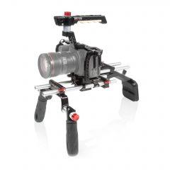 Shape SHAPE Blackmagic Pocket cinema 4k, 6k offset shoulder mount - BM4KSMOF