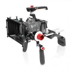 Shape SHAPE Blackmagic Pocket cinema 4k, 6k shoulder mount, matte box, follow focus - BM4SMKIT