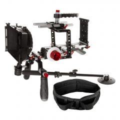 Shape Blackmagic cinema camera shoulder mount offset bundle - BMBUNDLE