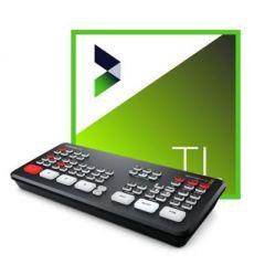 Blackmagic Design ATEM Mini Pro & NewBlue Titler Live 4 Present ESD Bundle