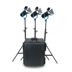 Dracast BoltRay 400 PLUS LED Bi-Color 3-Light Kit