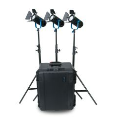 Dracast BoltRay 600 PLUS LED Daylight 3-Light Kit